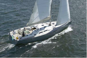 Hanse 540 out
